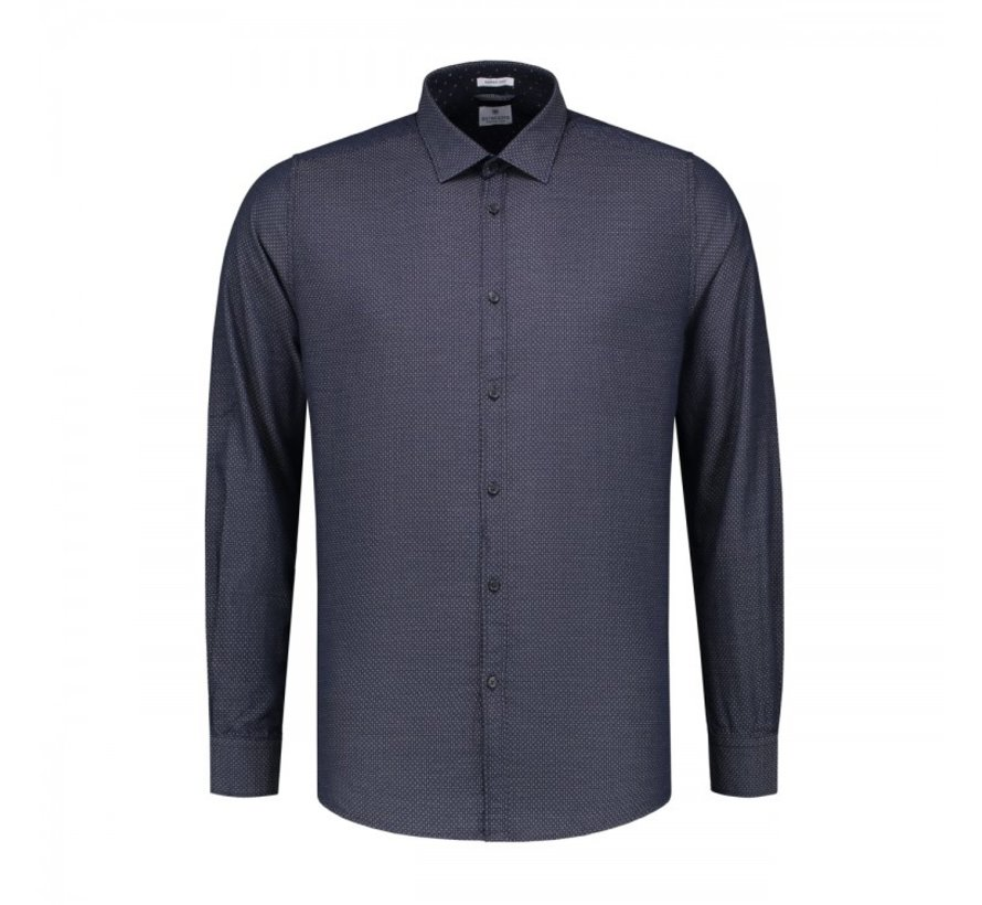 Overhemd Regular Fit Navy (303200 - 669)