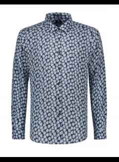 Dstrezzed Overhemd Print Bloemen Navy (303234 - 649)