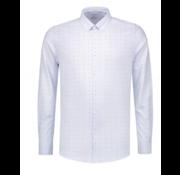 Dstrezzed Overhemd Print Vlinderstrikken Licht blauw (303244 - 646)