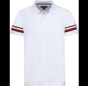 Tommy Hilfiger Polo Slim Fit Wit (MW0MW09750 - 100)