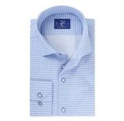 R2 Amsterdam Overhemd Extra Mouwlengte Print Blauw (104.WSP.XLS.134 - 018)