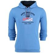 New Zealand Auckland Hooded Sweater Blauw (19AN307 - 292)