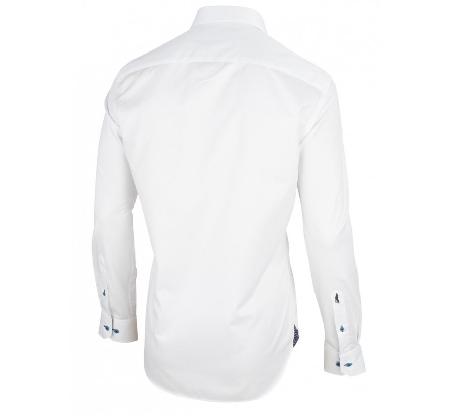 Overhemd Leo Wit (1095050 - 10000)