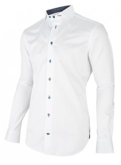 Cavallaro Napoli Overhemd Leo Wit (1095050 - 10000)