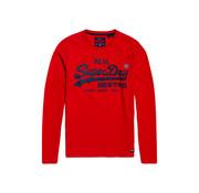 Superdry Lange Mouwen T-shirt Vintage Logo Rood (M6000019A - WA7)