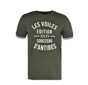 Code Zero T-shirt Port Vauban Army Groen (M602.01.695)