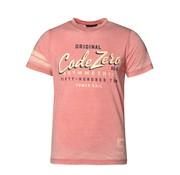 Code Zero T-shirt Classic Logo Roze (M60201191 - F13)