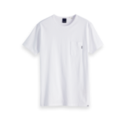 Scotch & Soda T-shirt Ronde Hals Wit (147612 - 00)