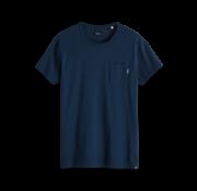 Scotch & Soda T-shirt Ronde Hals Navy Blauw (147612 - 2674)