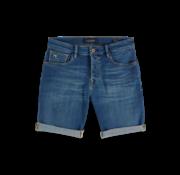 Scotch & Soda Korte Broek Jeans Blauw (148665 - 2729)