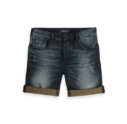 Scotch & Soda Korte Broek Jeans Gewassen Blauw (148667 - 2670)