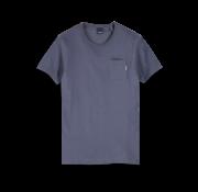 Scotch & Soda T-shirt Ronde Hals Donkerblauw (153387 - 0002)
