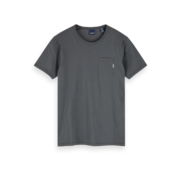 Scotch & Soda T-shirt Ronde Hals Antraciet Grijs (153387 - 0562)