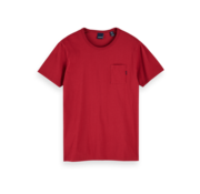 Scotch & Soda T-shirt Ronde Hals Rood (153387 - 0737)
