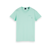 Scotch & Soda T-shirt Ronde Hals Mint Groen (153387 - 2781)