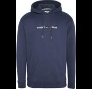 Tommy Hilfiger Hooded Sweater Logo Navy (DM0DM07030 - CBK)