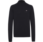 Tommy Hilfiger Sweater Hoge Ronde Hals Zwart (DM0DM07126 - BBU)