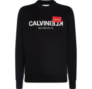 Calvin Klein Sweater Logo Zwart (K10K104517 - BDS)