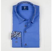 R2 Amsterdam Overhemd Blauw (103.WSP.003 - 014)
