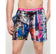 Superdry Zwemshort Print (M30014AT - Q2H)