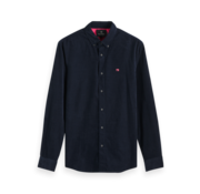 Scotch & Soda Overhemd Button-down Navy Blauw (152155 - 0002)
