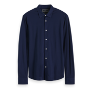 Scotch & Soda Overhemd Slim Fit Navy Blauw (152199 - 0218)