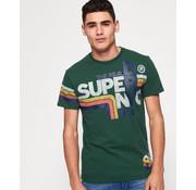 Superdry T-shirt Groen (M10103ST - A7J)