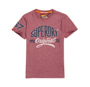 Superdry T-shirt Logo Rood (M10101CT - SW2)