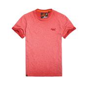 Superdry T-shirt Logo Gemeleerd Rood (M10101RT - D3A)