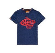 Superdry T-shirt Logo Navy (M10108SU - BCY)