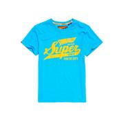 Superdry T-shirt Logo Blauw (M10108SU - BVT)