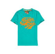 Superdry T-shirt Logo Groen (M10108SU - T4N)
