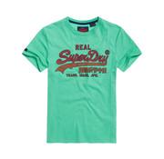 Superdry T-shirt Logo Groen (M10124TT - A7L)