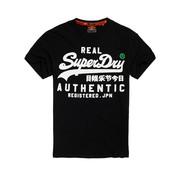 Superdry T-shirt Logo Zwart (M10131TU - 02A)
