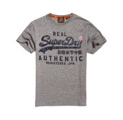 Superdry T-shirt Logo Grijs (M10131TU - KBZ)