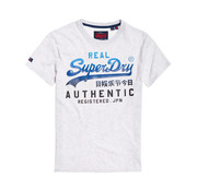 Superdry T-shirt Logo Wit (M10563NR - 54G)