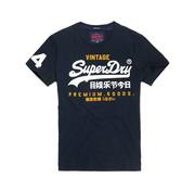 Superdry T-shirt Logo Navy (M10992NT - A7P)