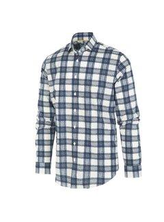 Blue Industry Overhemd Ruit Blauw/Wit (1248.92)