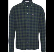 Tommy Hilfiger Overhemd Ruit Groen (DM0DM07140 - CA4)