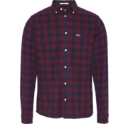 Tommy Hilfiger Overhemd Ruit Bordeaux Rood (DM0DM07140 - VA2)