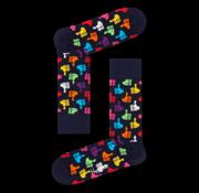 Happy Socks 1pack Sokken Thumbs Up Zwart (THU01 - 6500)