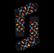 Happy Socks 1pack Sokken Hotdog Zwart (HOT01- 9000)