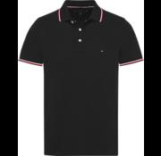 Tommy Hilfiger Polo Zwart Slim Fit (MW0MW09734 - 083)