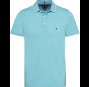 Tommy Hilfiger Polo Blauw Slim Fit (MW0MW09732 - 424)