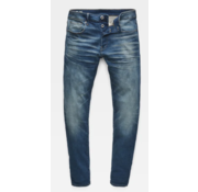 G-star Jeans 3301 Slim Fit Worker Blue Faded Blauw (51001-A088-A888)