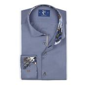 R2 Amsterdam Overhemd Uni Blauw (106.WSP.021 - 013)