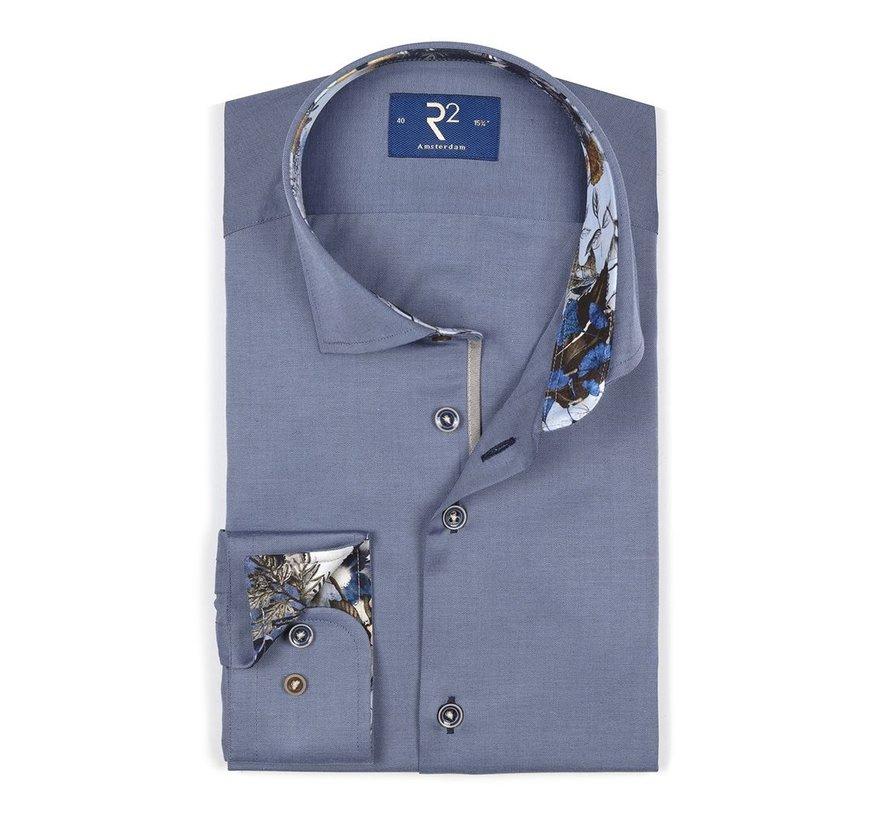 Overhemd Uni Blauw (106.WSP.021 - 013)