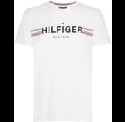 Tommy Hilfiger T-shirt Logo Wit (MW0MW10368 - 100)