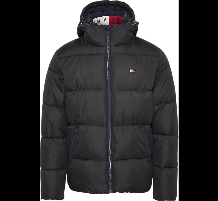 Winterjas gewatteerd Zwart (DM0DM07114 - BBU)