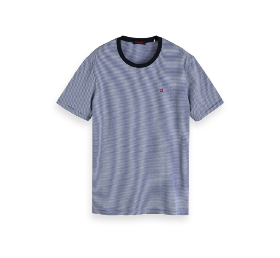 T-shirt Streep Blauw/Wit (152274 - 0217)